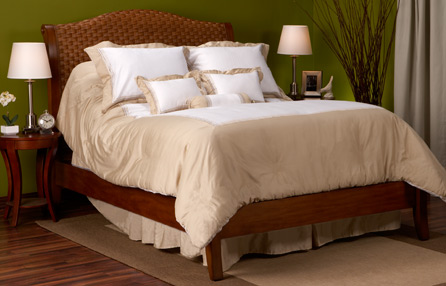 classic made bed